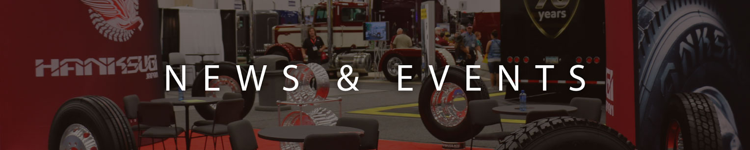 Hanksugi expo tire show and events