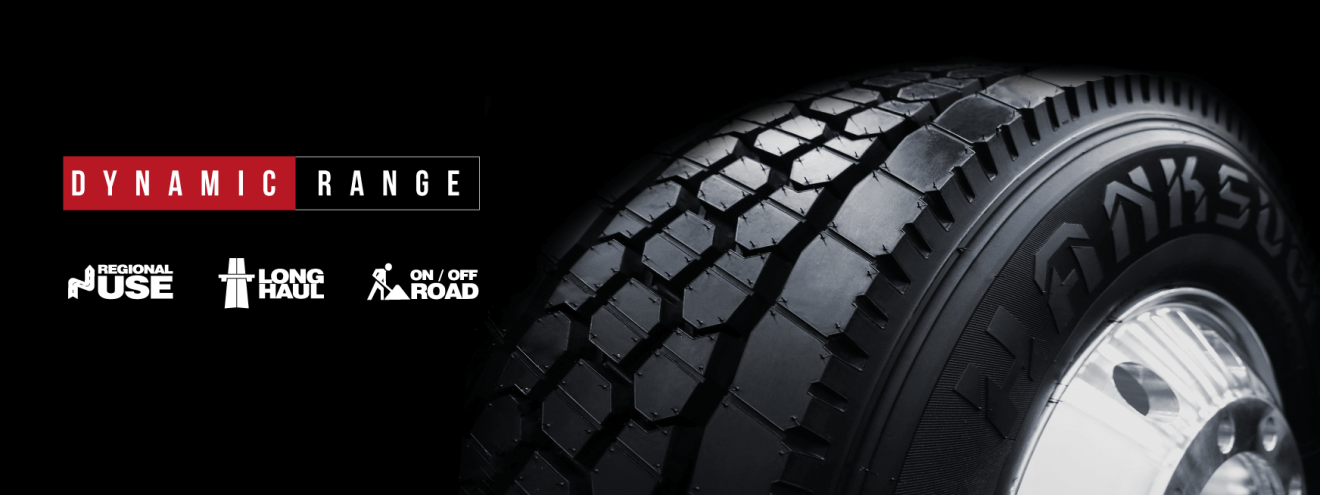 Dynamic range tires hanksugi Japan