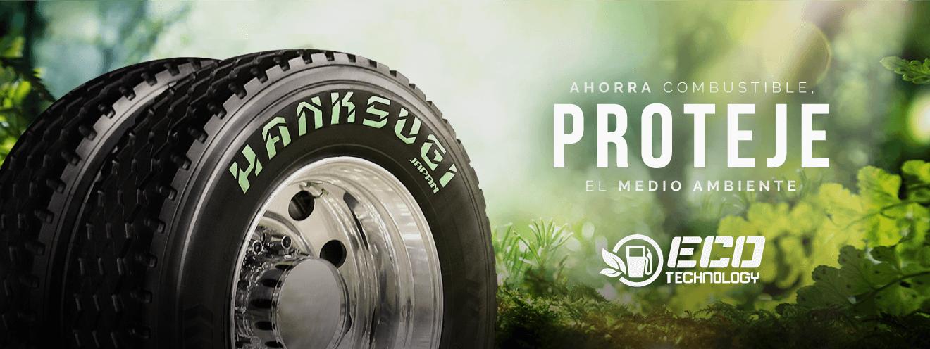 Neumáticos para camiones - Hanksugi: ecológicos con ahorro de combustible